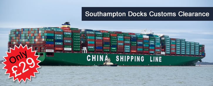 Customs Clearance - Southampton Docks and Customs Clearance – Felixstowe Docks
